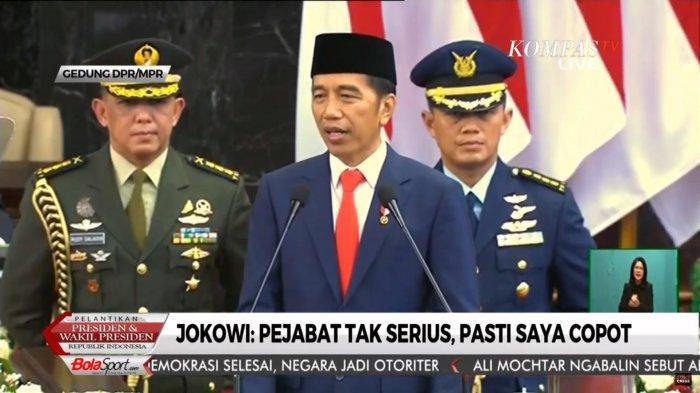 Jokowi-Maruf Amin Resmi Jabat Presiden dan Wakil Presiden Periode 2019-2024