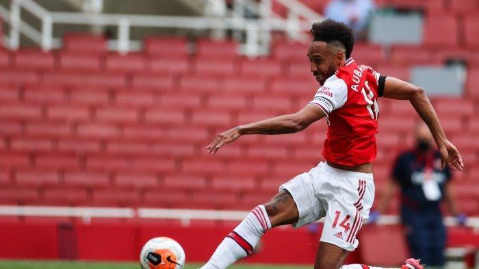 Hasil Akhir Arsenal vs Norwich di Liga Inggris, Aubameyang Gemilang, The Gunners Menang 4-0