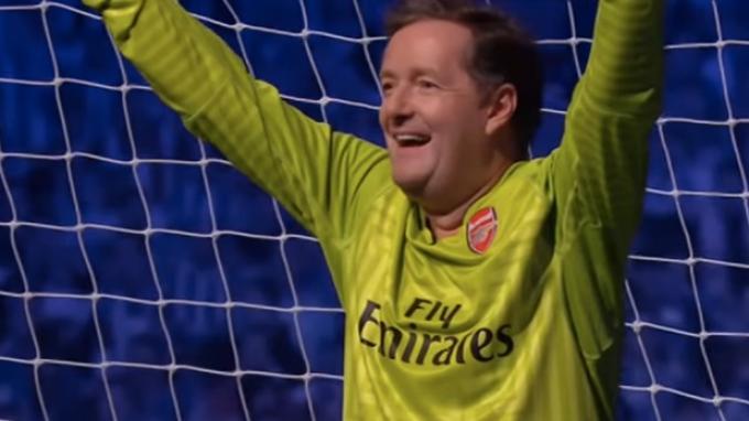 Piers Morgan Mau Nangis Saksikan Arsenal Kalahkan Manchester City