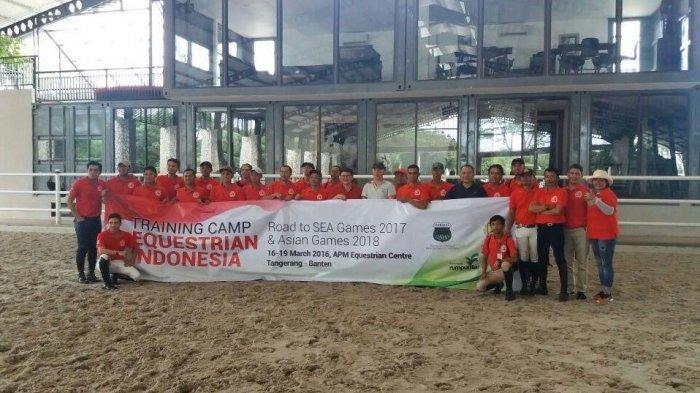 Training-Camp Equestrian dengan Peter Jan Berkers Sukses