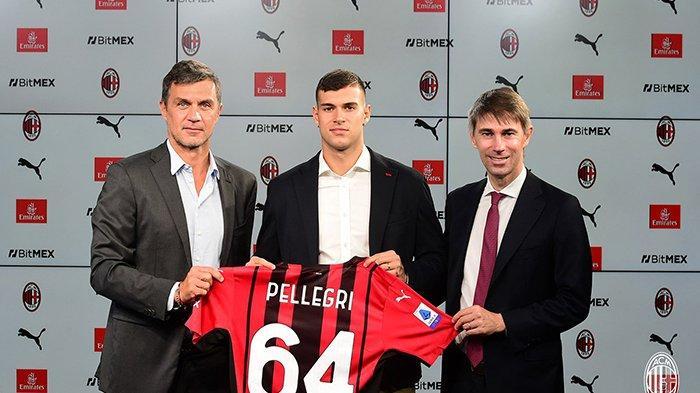 Pietro Pellegri resmi menjadi pemain AC Milan dengan status pinjaman dari AS Monaco, ditambah opsi pembelian di akhir musim.
