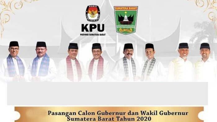 Hasil Real Count Pilgub Sumatera Barat 2020 Data KPU per Senin (14/12) Pagi: Mahyeldi-Audy Unggul