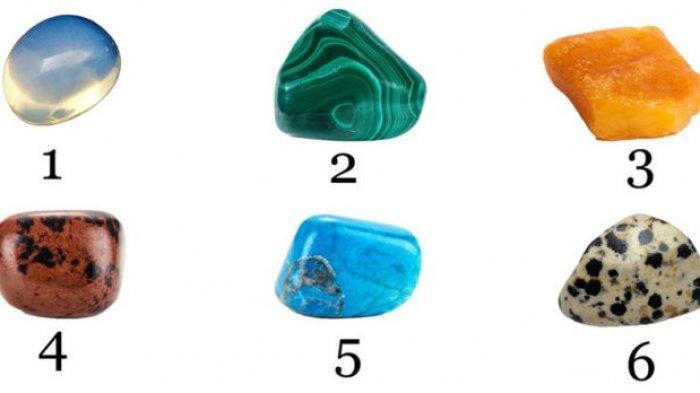 Tes Kepribadian - Pilih Batu Ini dan Ungkap Bagian Tersembunyi dari Dalam Dirimu
