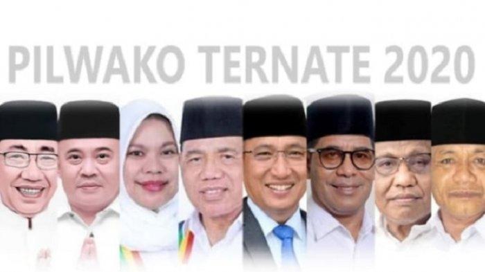 Real Count KPU Pilkada Ternate 2020 Kamis (10/12/2020) Pukul 13.15 WIB Data 74,41%: TULUS Unggul