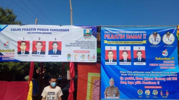 Pilkades Serentak di Kabupaten Pesisir Barat Lampung Dilaksanakan Taat Prokes