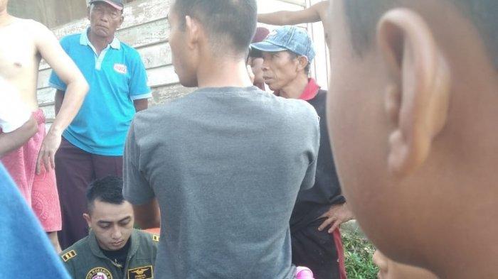 Kondisi pilot Lettu Pnb Apriyanto Ismail dari Skadron Udara 12 Lanud Roesmin Nurjadin (Rsn) Pekanbaru.