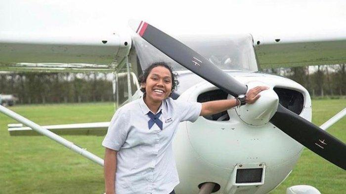 Lulus dari Kampus Bergengsi Selandia Baru, Martha Itaar Asal Papua Kini Jadi Pilot Garuda Indonesia