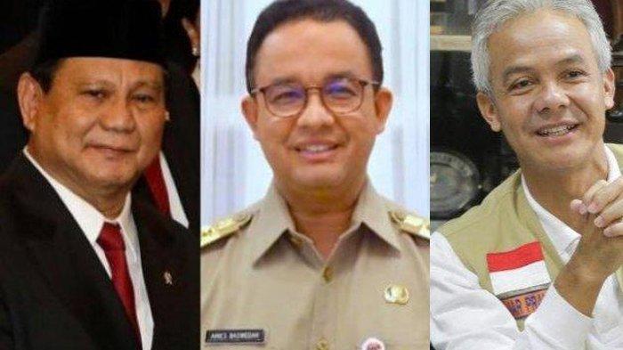 Jika Maju Pilpres, Prabowo, Anies, Ganjar, Siapa Menang? Ini Peta Elektabilitas 7 Lembaga Survei
