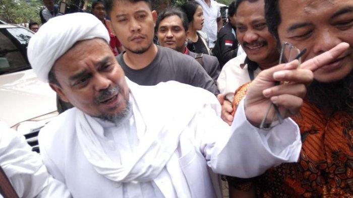 Pesan Rizieq Shihab untuk Jokowi: Tegakkan Keadilan, Jangan Selalu Fokus kepada Pencitraan