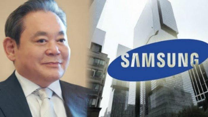Pimpinan Samsung Group Lee Kun Hee