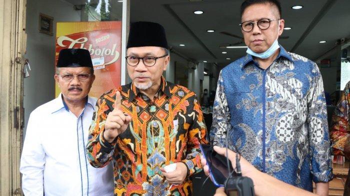 Zulkifli Hasan Instruksikan Kader PAN All Out Menangkan Mulyadi-Ali Mukhni