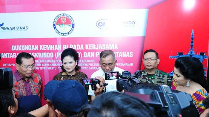 Pinhantanas dan PT Askrindo Tandatangani Perjanjian Kerja Sama Tingkatkan Indhan Nasional