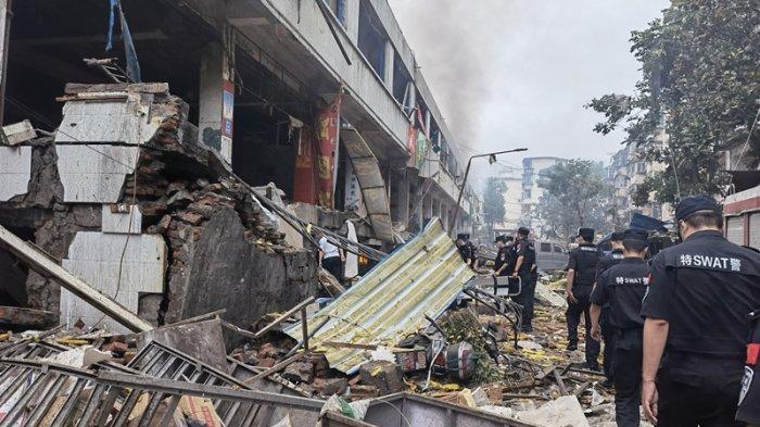 Pipa Gas Meledak di Pasar yang Ramai Pengunjung, 12 Orang Tewas dan 138 Luka-Luka