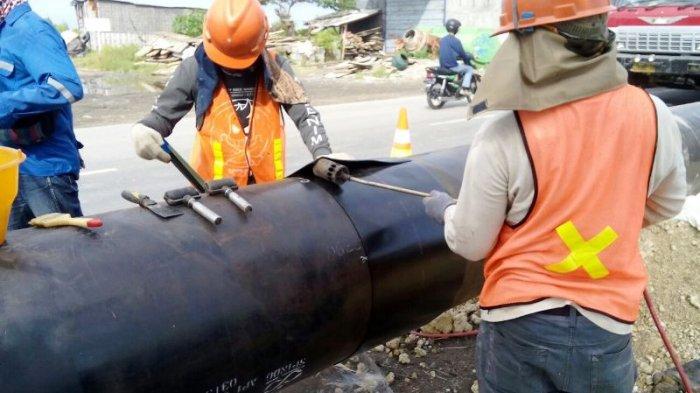 PGN Bangun Pipa Gas Bumi Gresik-Lamongan-Tuban Sepanjang 141 Km