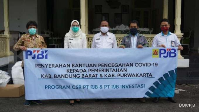 Bantu Daerah Terdampak Covid-19, PJB Donasikan APD dan Alkes di Kabupaten Purwakarta