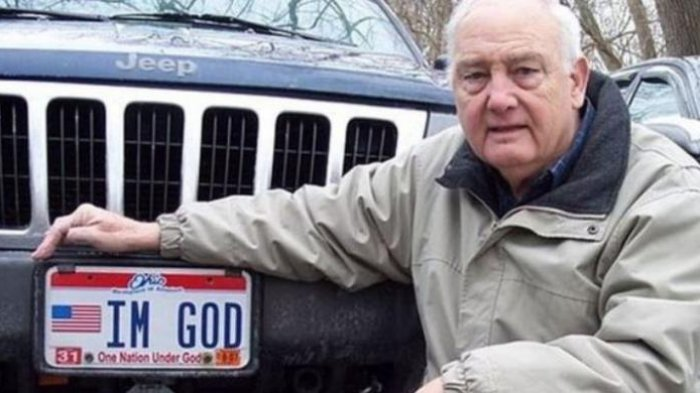 Alasan Nomor Cantik Pelat Mobil ''Im God'' Dilarang Pemerintah