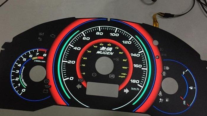 Biaya Pasang Speedometer Indiglow di All New Honda Brio Cuma Rp 1,4 Juta