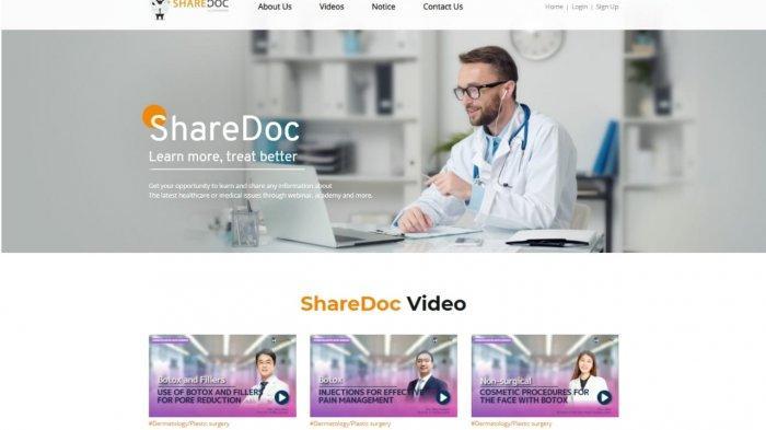 Sharedoc, Platform Digital untuk Dokter dari Berbagai Belahan Dunia