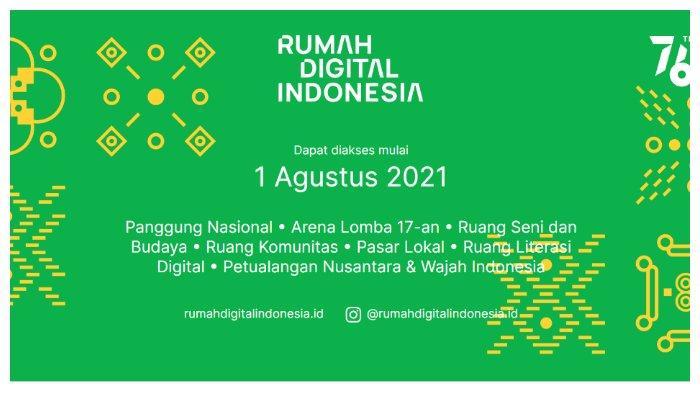 Rayakan HUT ke-76 RI, Pemerintah Rilis Platform Rumah Digital Indonesia, Simak Program-programnya