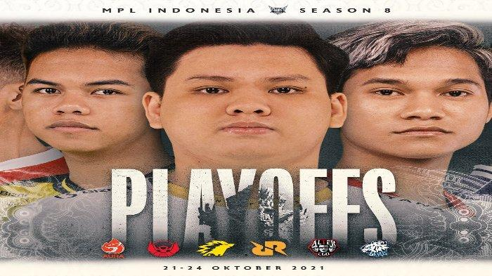 Jadwal Play Off MPL ID Season 8 - Kebangkitan Aura Fire Tantang Dominasi Evos Legends