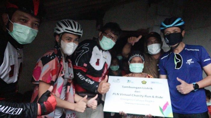 PLN Virtual Charity Run and Ride Kumpulkan Rp 6,16 Miliar untuk Listrik Keluarga Tidak Mampu