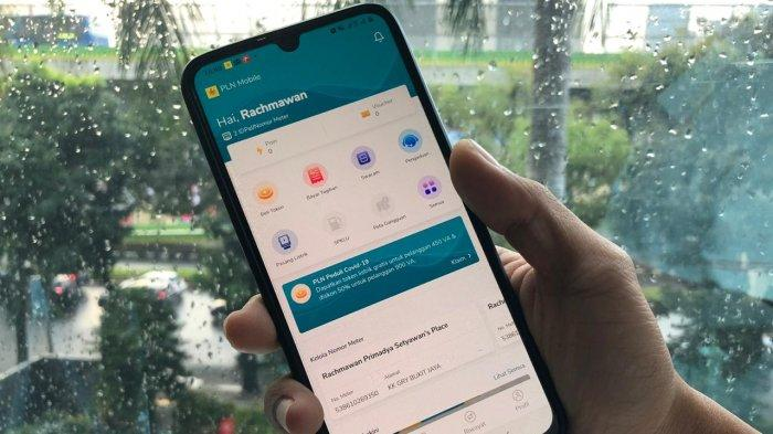 Aplikasi ''New PLN Mobile''
