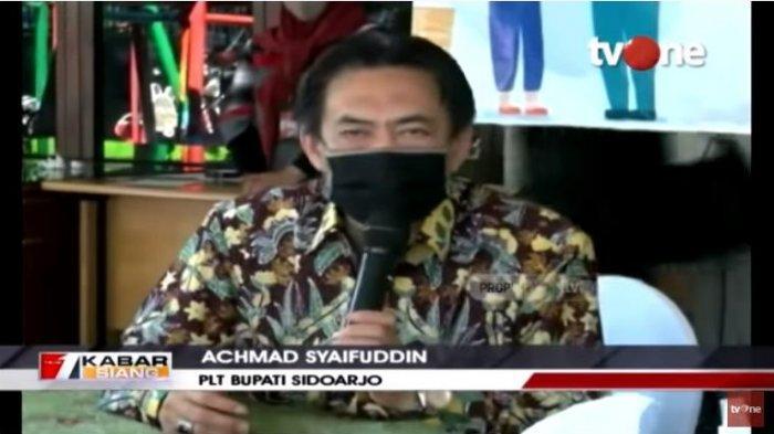 Plt Bupati Sidoarjo, Achmad Syaifuddin mengungkapkan sudah lakukan tracing, serta menutup tempat ibadah dan akses ke Desa Waru, Sidoarjo setelah 15 warga ditemukan positif Covid-19.
