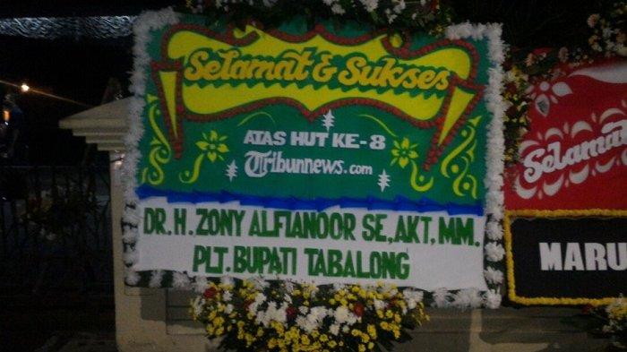 Plt Bupati Tabalong Ucapkan Selamat HUT ke-8 Tribunnews.com