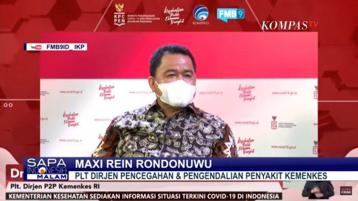 PLT Dirjen Pencegahan dan Pengendalian Penyakit Kemenkes, Maxi Rein Pondonuwu
