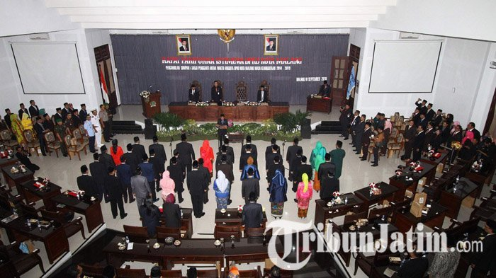 40 Anggota DPRD Kota Malang PAW Resmi Dilantik, Tugas Berat Selesaikan Bahas APBD Langsung Menanti