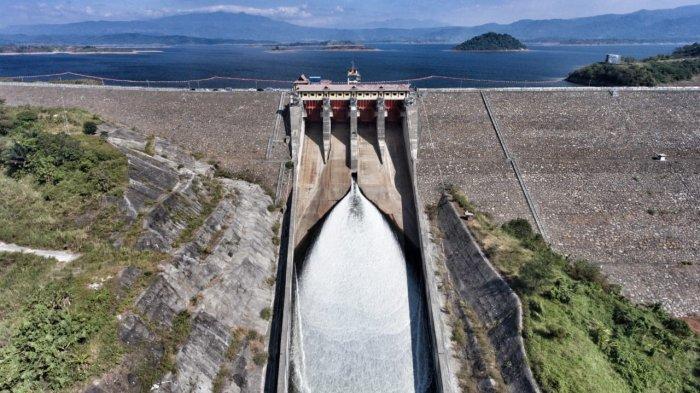 Progras Pembangunan Proyek PLTA Jatigede Capai 34%