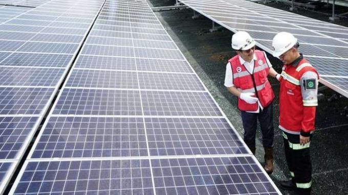 PLTS di Wilayah Kerja Kideco Gunakan 999 Solar Panel dengan 3 Inverter