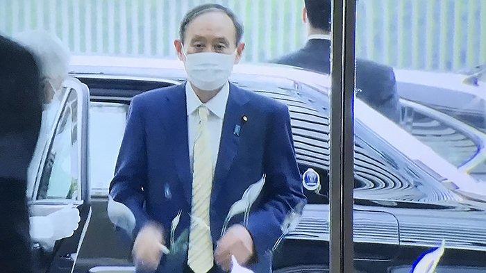 Baru Pulang dari KTT G7 di Inggris, PM Jepang Yoshihide Suga 'Disambut' Mosi Tidak Percaya