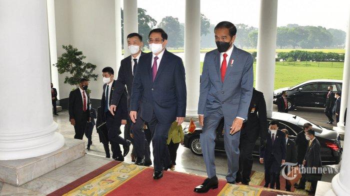 Presiden Jokowi Pertemuan Bilateral dengan PM Vietnam di Istana Bogor