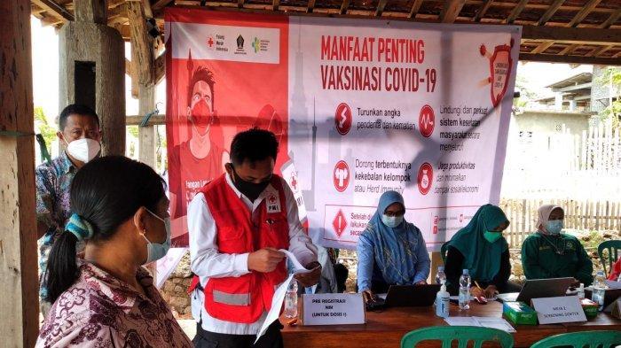 Sukseskan Program Nasional 2 Juta Vaksin, PMI Kab Blitar Buka Sentra Vaksinasi