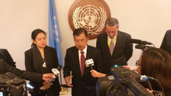 Menko Puan Dampingi Wapres Dalam General Debate Sidang Majelis Umum PBB ke 73