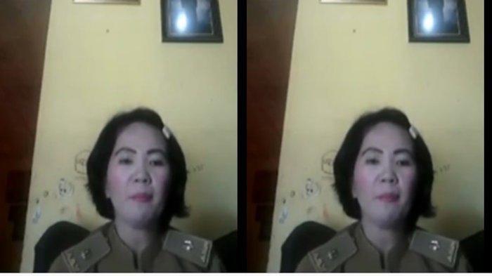 PNS Yesi Indola Sari yang videonya viral soal galang dana untuk bayar utang bank.