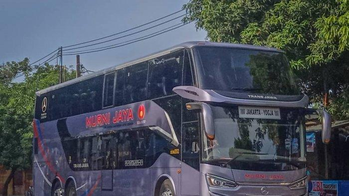 Tarif Tiket Lebaran Bus Double Decker PO Murni Jaya ke Jogja Tembus Rp 500 Ribu