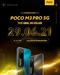 Dirilis Malam Ini, Seperti Apa Fitur Poco M3 Pro 5G yang Dijuluki Flagship Killer dari Xiaomi?