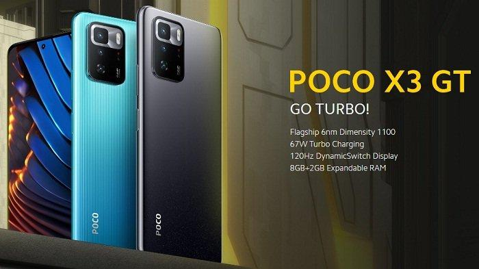 Poco X3 GT