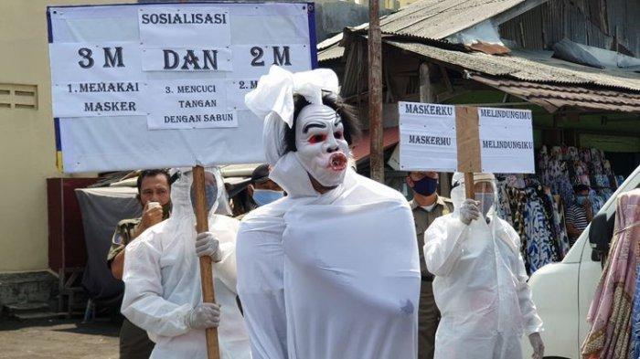 Sosialisasi Protokol Kesehatan, Pemkot Tangerang Gunakan Pocong