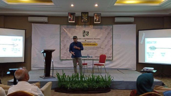 Dewas BPJS Ketenegakerjaan Jadi Pembicara LK II HMI Denpasar