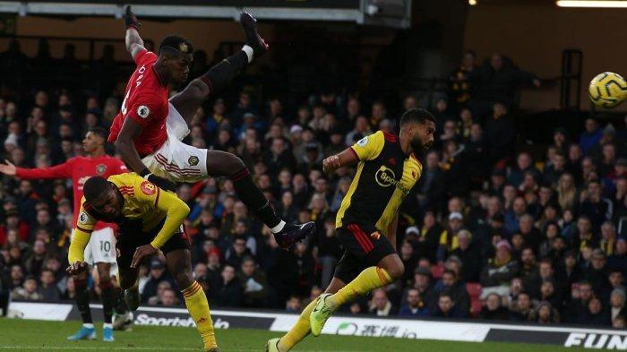Penampilan Pogba Saat Menghadapi Watford Di Liga Inggris (@paulpogba)