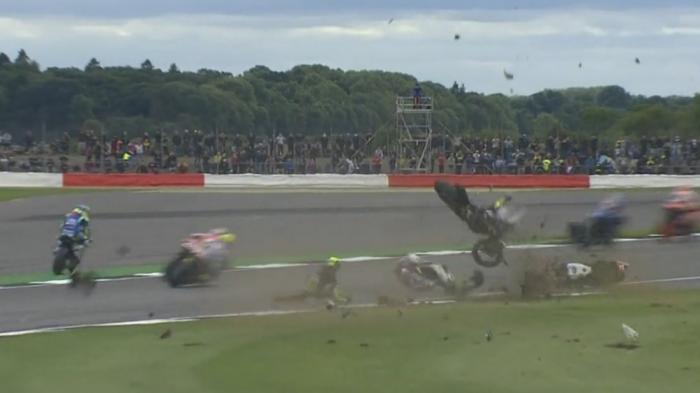 CRASH! Pol Espargaro Keluar Lintasan, Link Live Streaming MotoGP