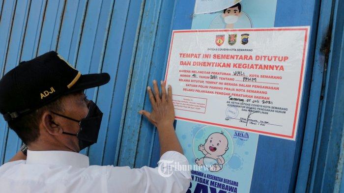 Polisi Gerebek 2 Tempat Spa Pelanggar PPKM Darurat di Tamansari, Satu Terapisnya Positif Covid-19
