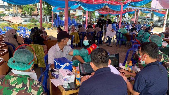 GAMKI Bengkulu dan Polri Sukses Laksanakan Program Vaksinasi Merdeka