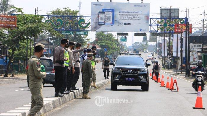 Polisi: Volume Arus Mudik ke Jawa Barat Turun 100 Persen