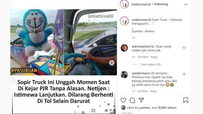 Kronologi Video Viral Kejar-kejaran Truk dengan Mobil Patroli: Diminta Berhenti Malah Ngebut Zig-zag