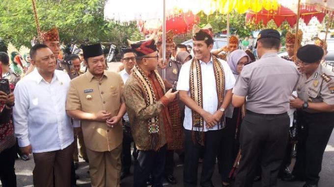 Inovasi Polda Lampung Luncurkan Aplikasi SOS, Dalam 1 Menit Polisi Tiba di Lokasi