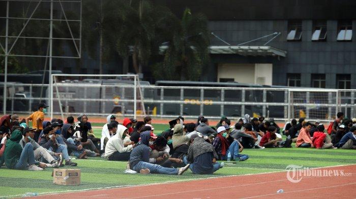 Pelajar Ikut Demo UU Cipta Kerja Tercatat di SKCK, KontraS, KPAI dan Pengamat Kepolisian Bersuara